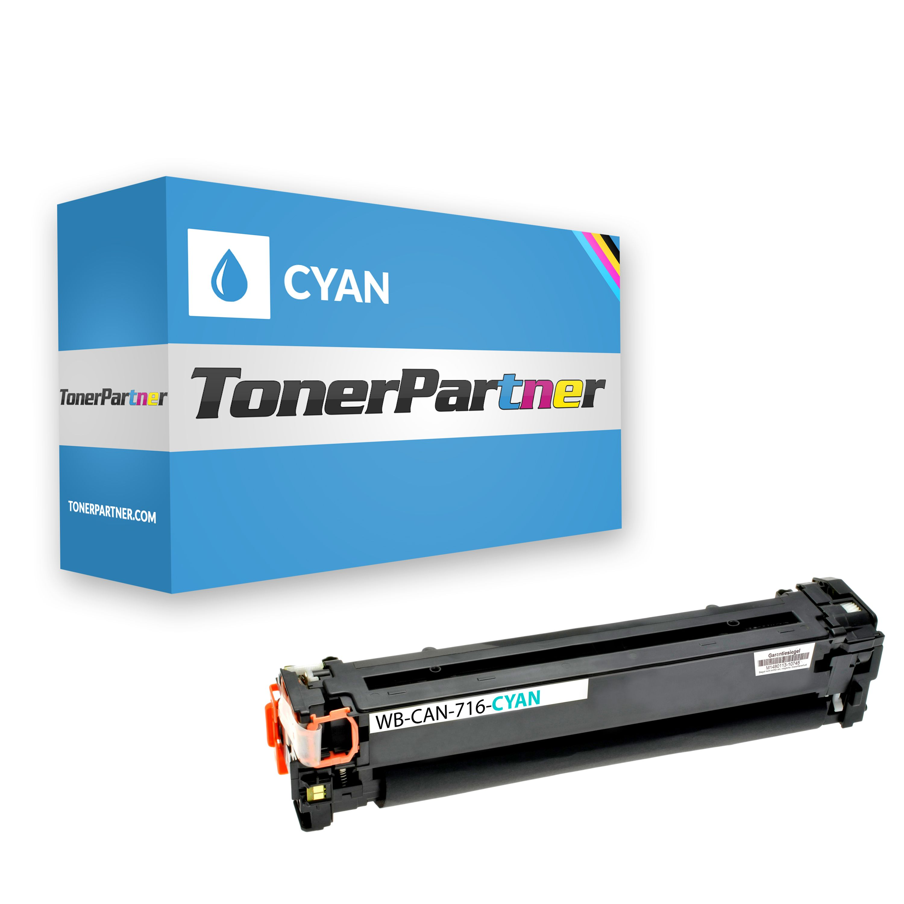 Compatible to Canon 1979B002 / 716C Toner cyan