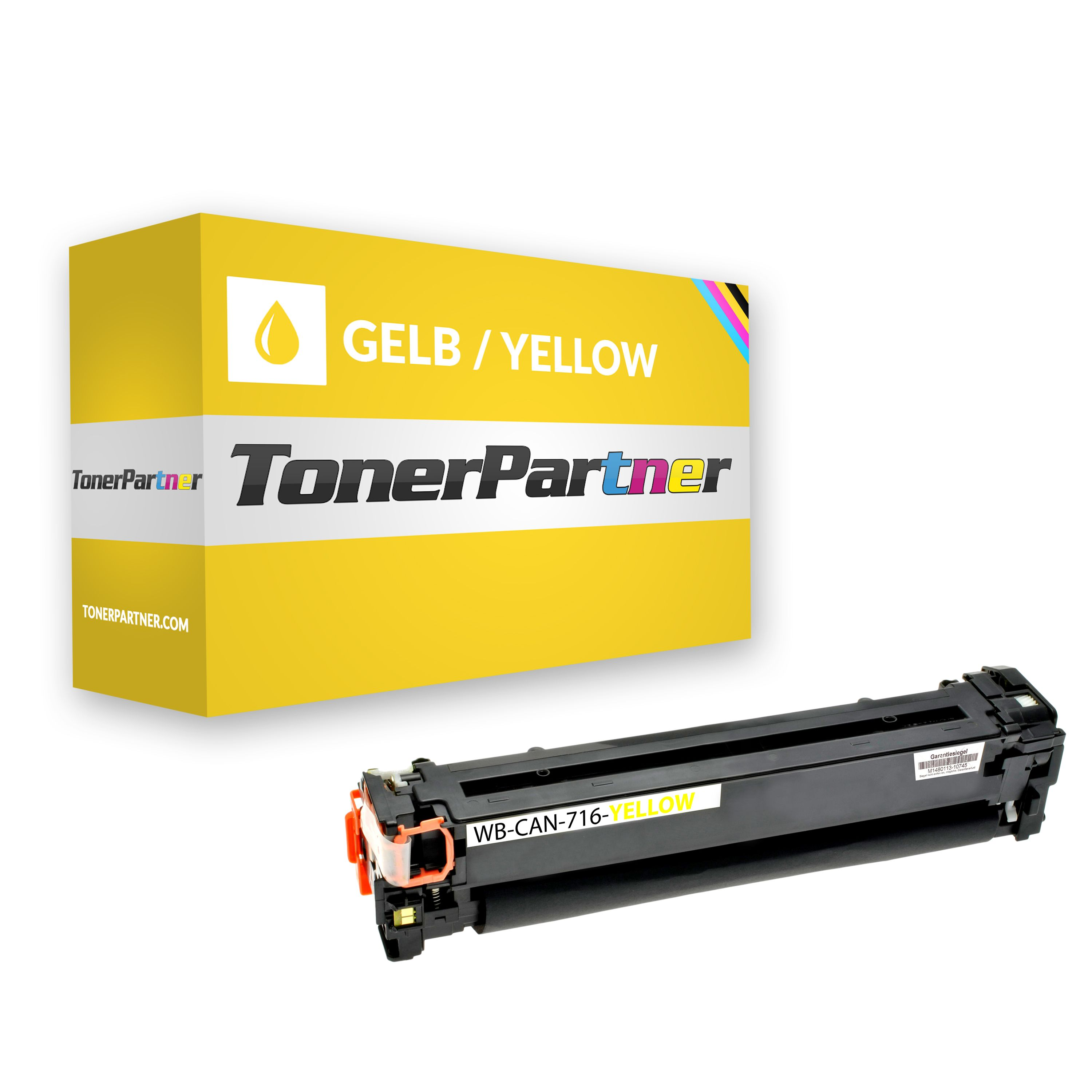 Compatible to Canon 1977B002 / 716Y Toner yellow