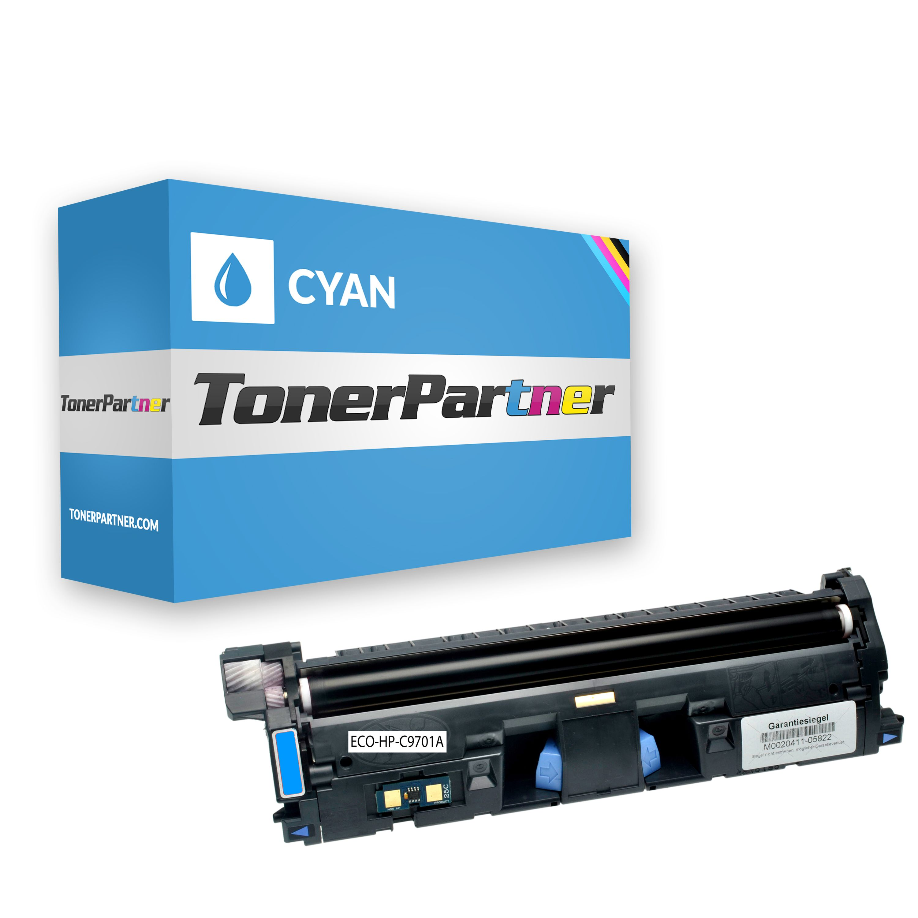Compatible to HP C9701A / 121A Toner cyan
