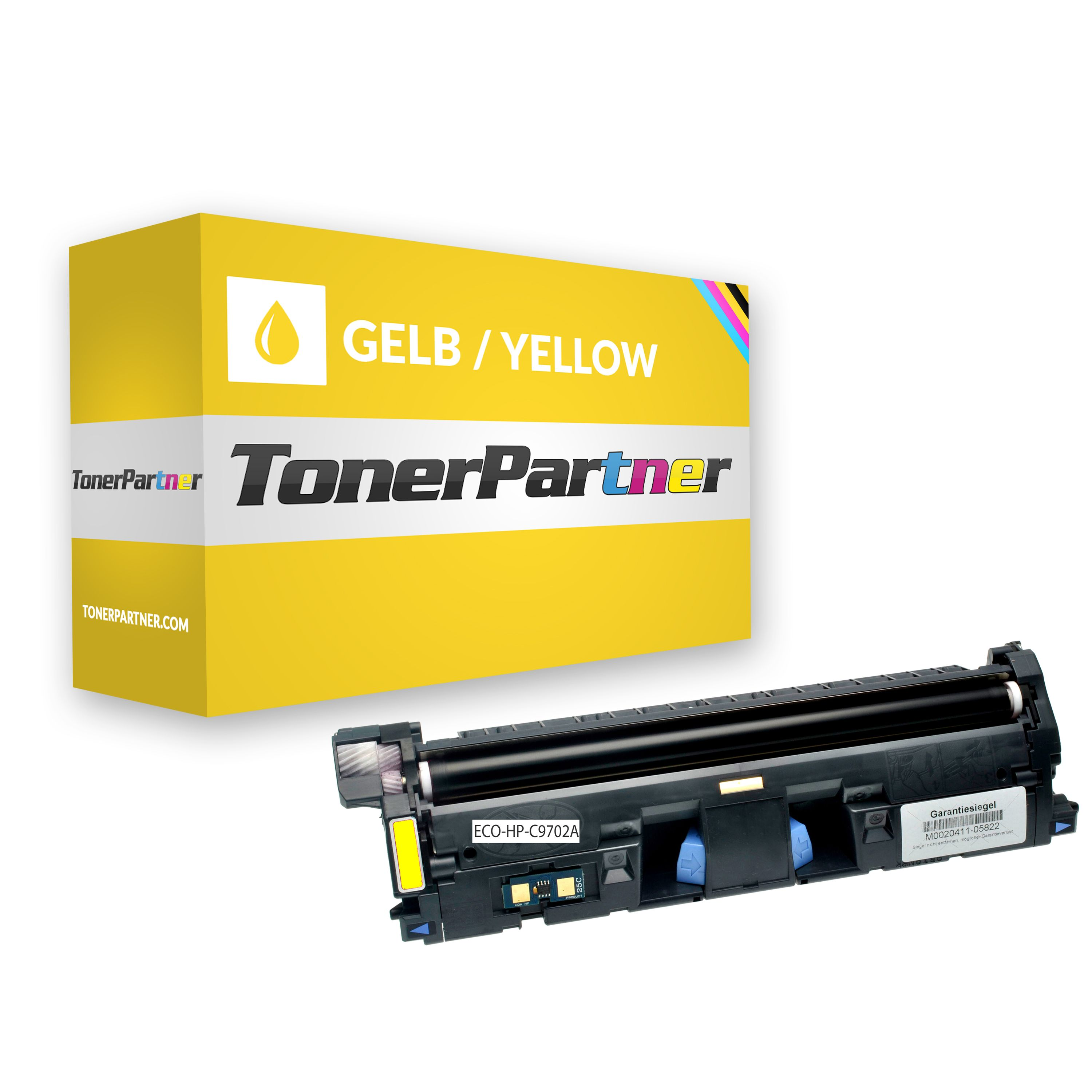 Compatible to HP C9702A / 121A Toner yellow
