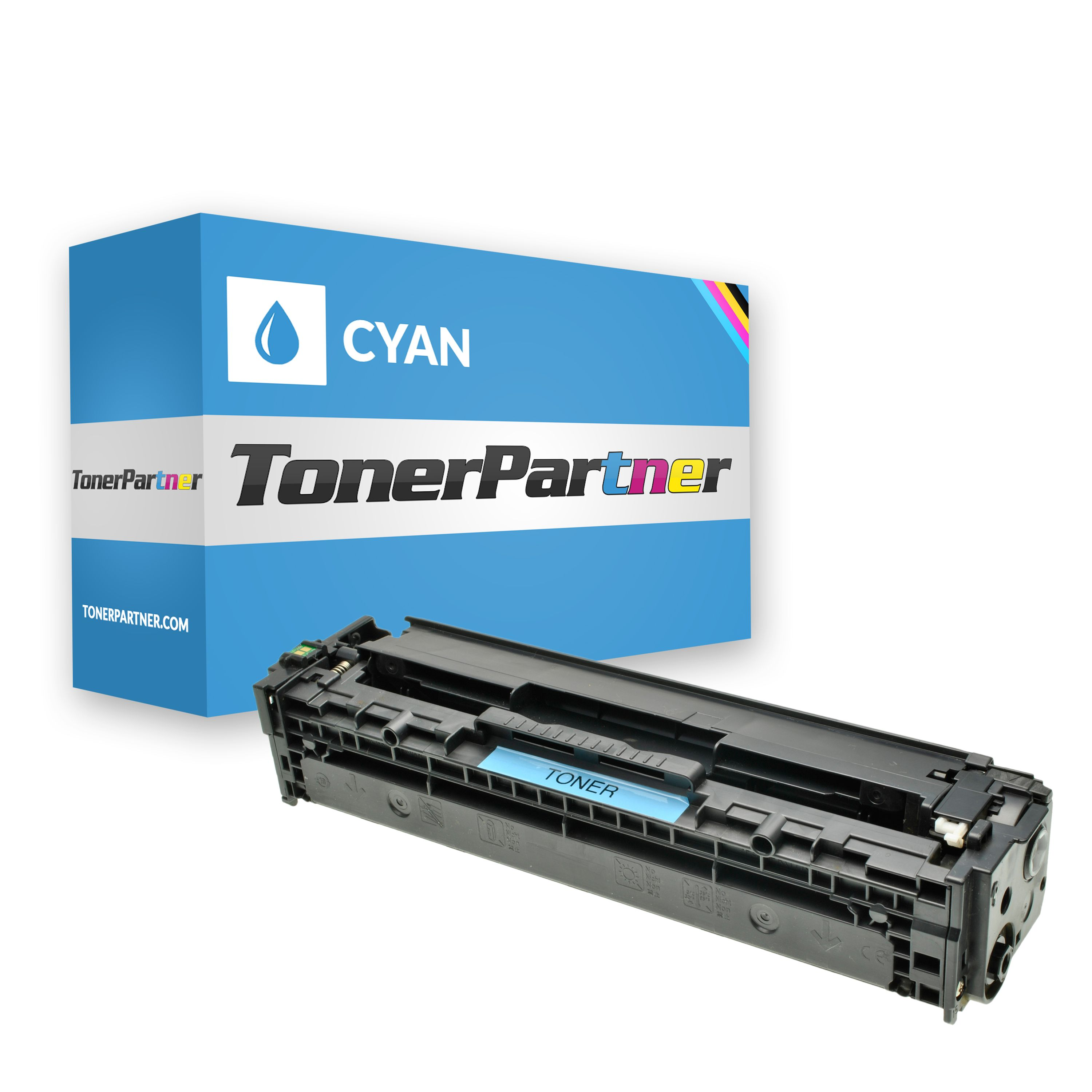 Compatible to HP CB541A / 125A Toner cyan