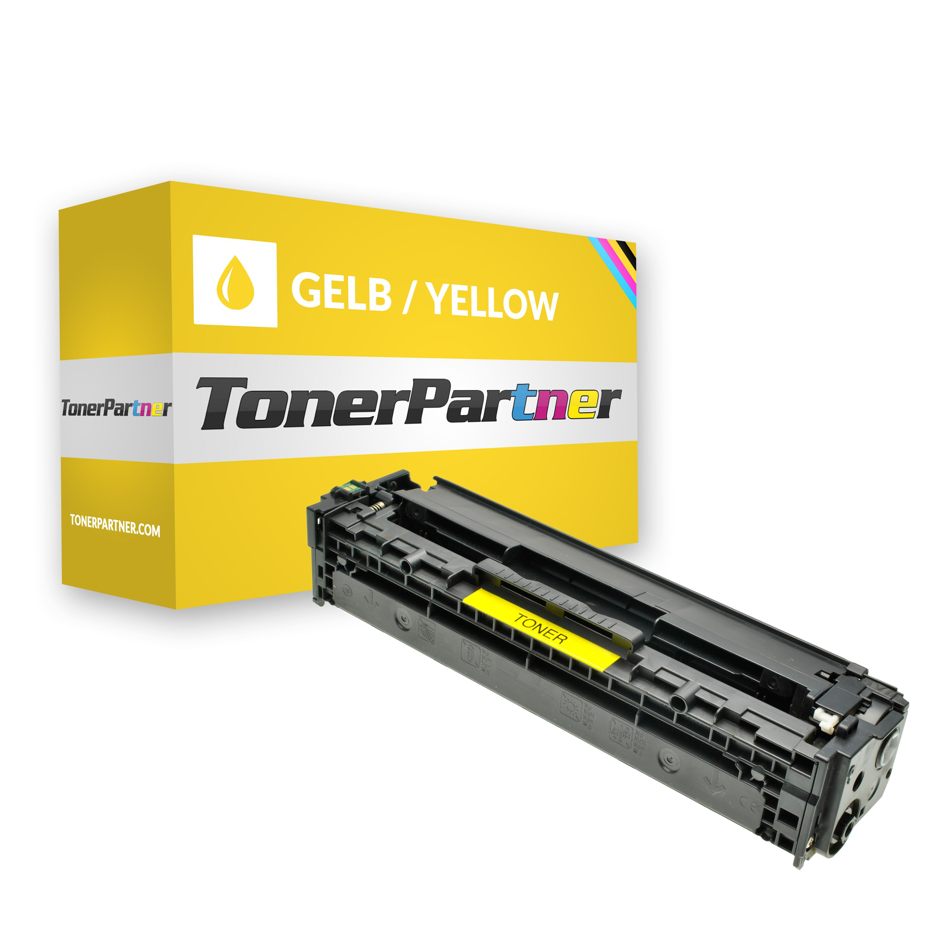 Compatible to HP CB542A / 125A Toner yellow