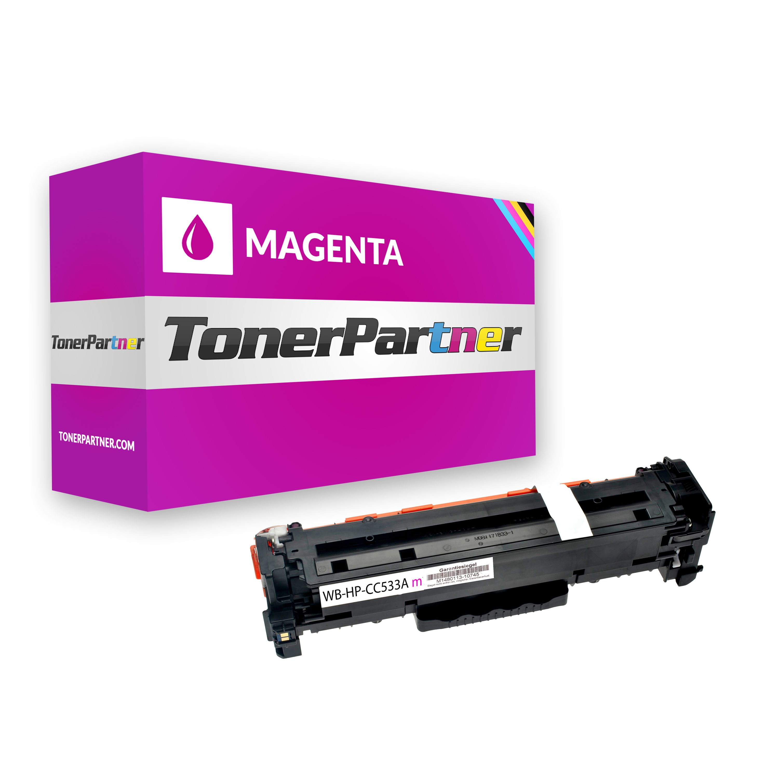 Compatible to HP CC533A / 304A Toner magenta