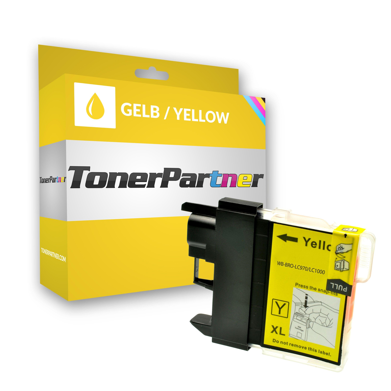 Kompatibel zu Brother LC-1000 Tintenpatrone gelb