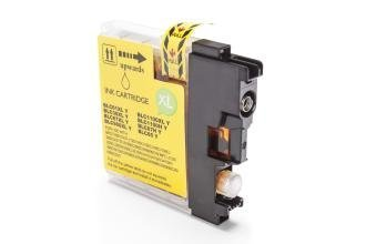 Kompatibel zu Brother LC-1100 Y Tintenpatrone gelb