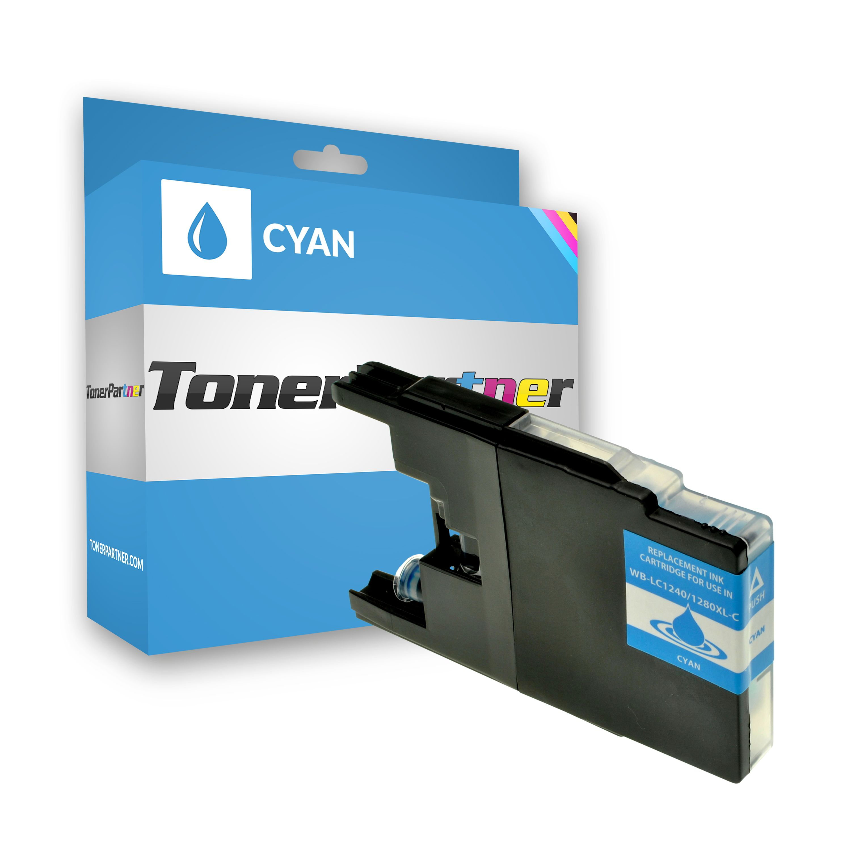 Kompatibel zu Brother LC-1240C Tintenpatrone cyan