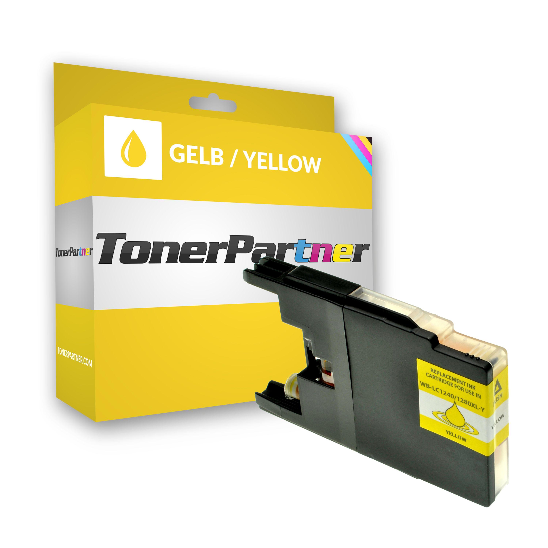 Kompatibel zu Brother LC-1240Y Tintenpatrone gelb