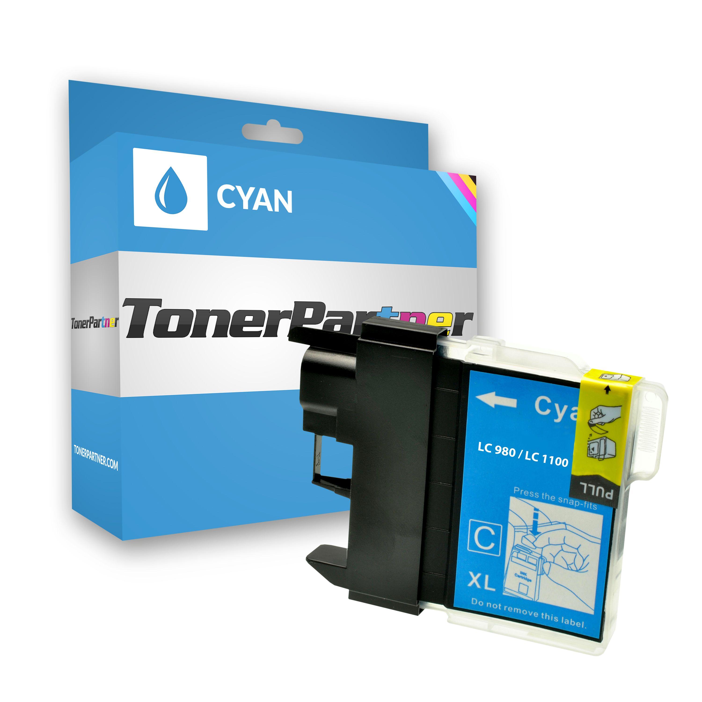 Kompatibel zu Brother LC-980 C Tintenpatrone cyan