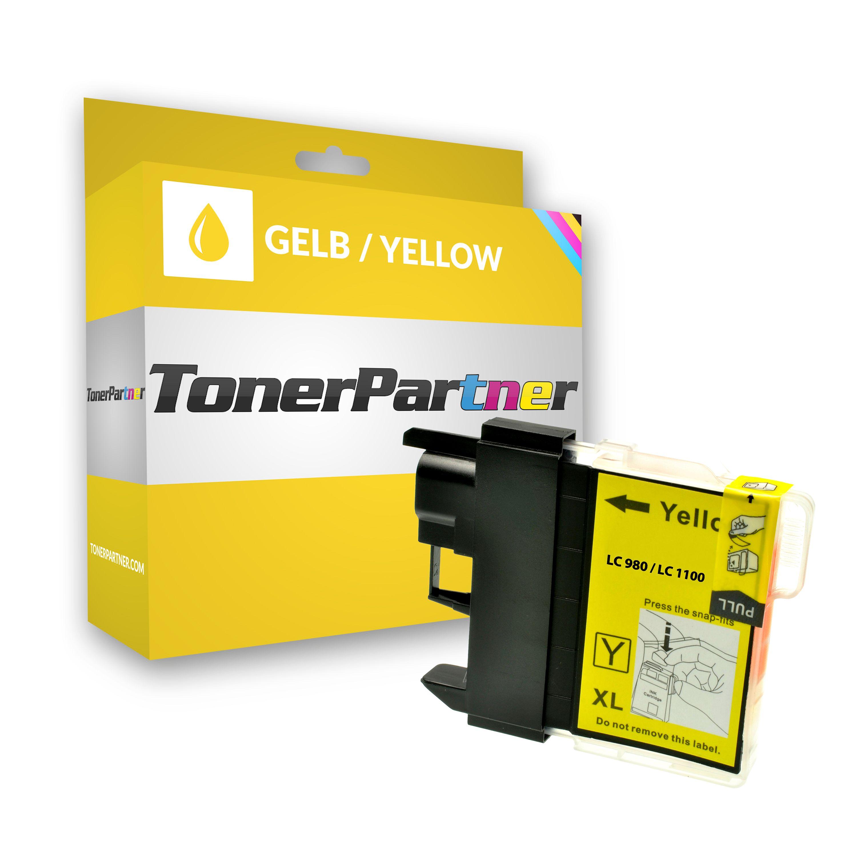 Kompatibel zu Brother LC-980 Y Tintenpatrone gelb