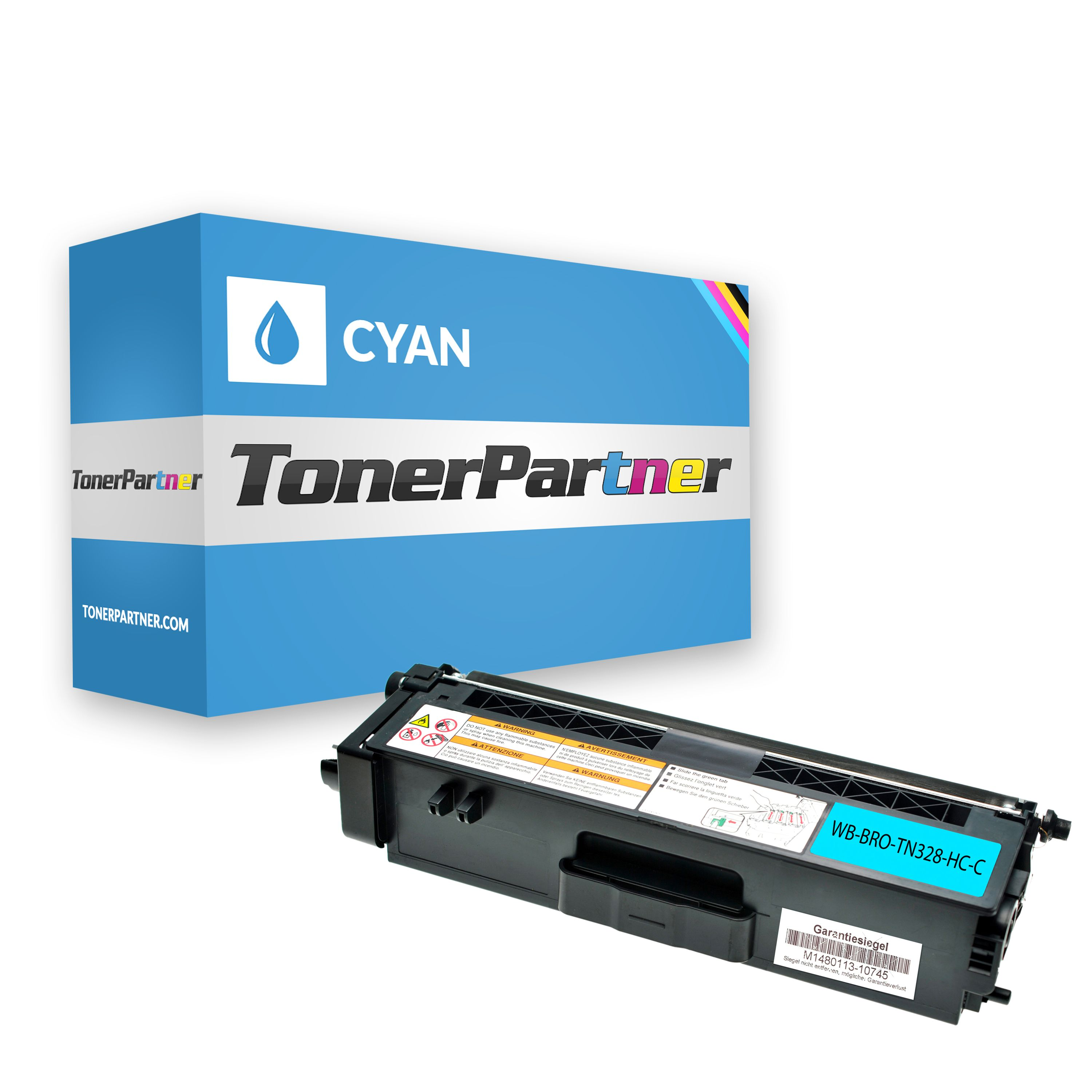 Kompatibel zu Brother TN-328C Toner cyan