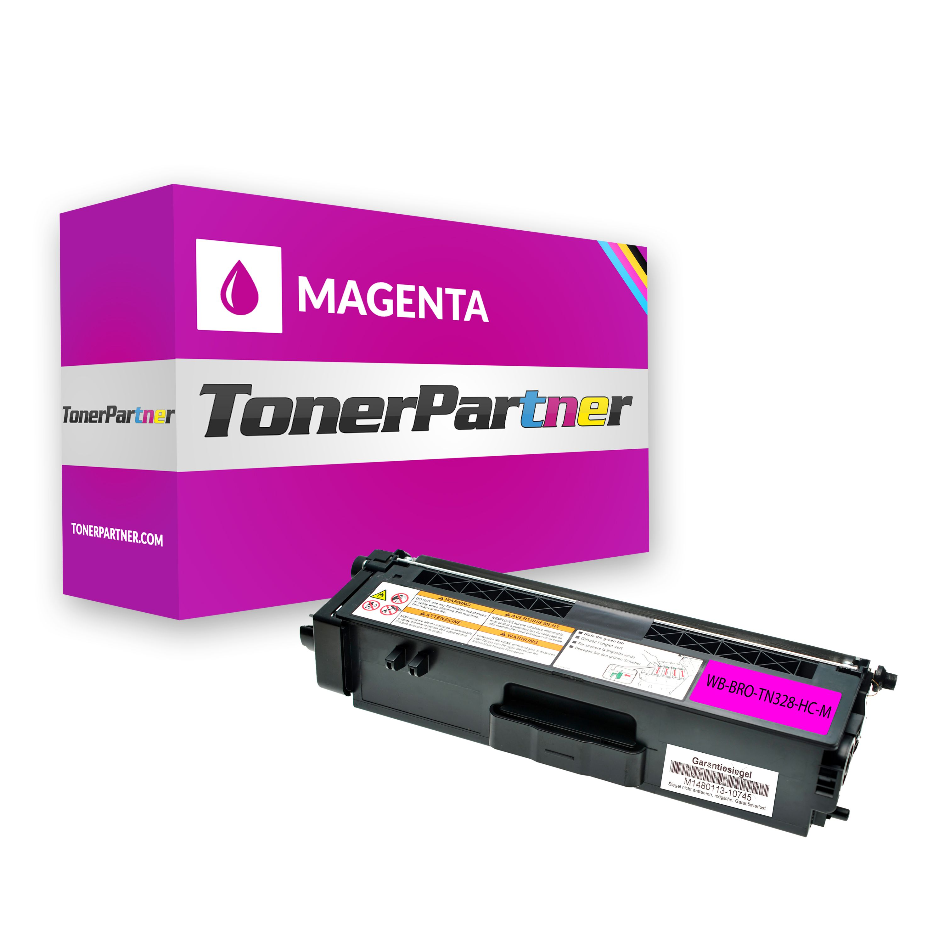 Kompatibel zu Brother TN-328M Toner magenta