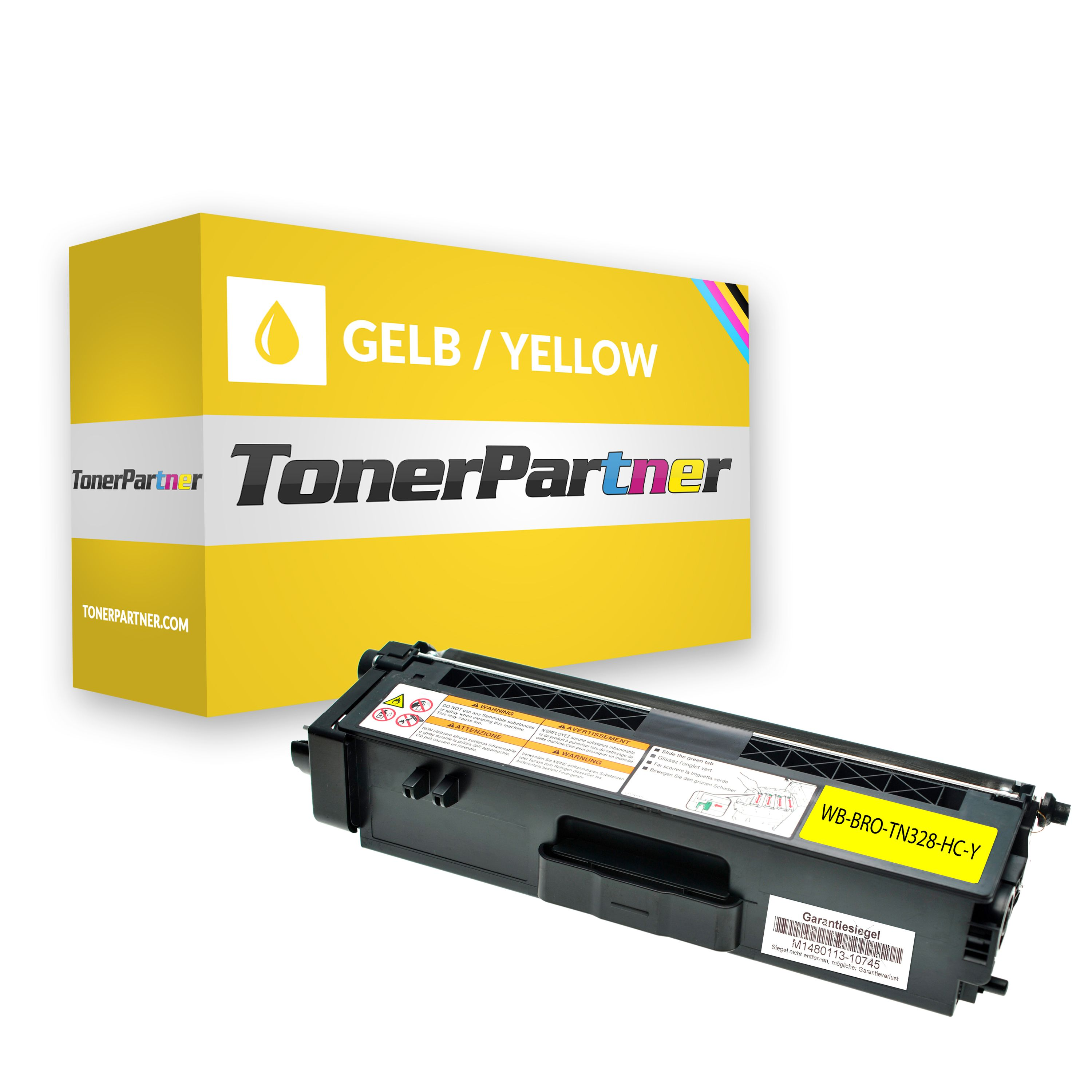 Kompatibel zu Brother TN-328Y Toner gelb
