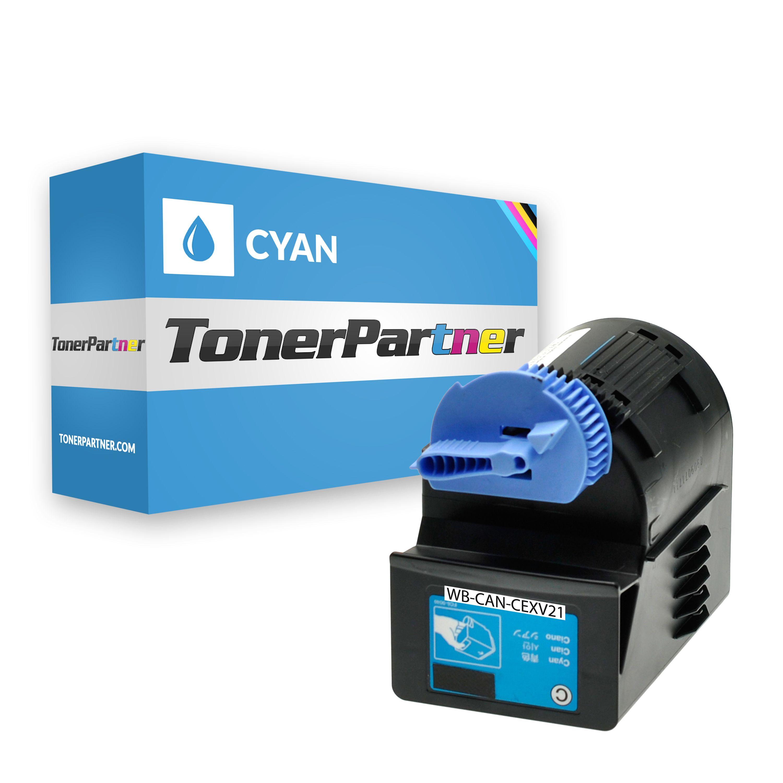 Kompatibel zu Canon 0453B002 / CEXV21 Toner cyan