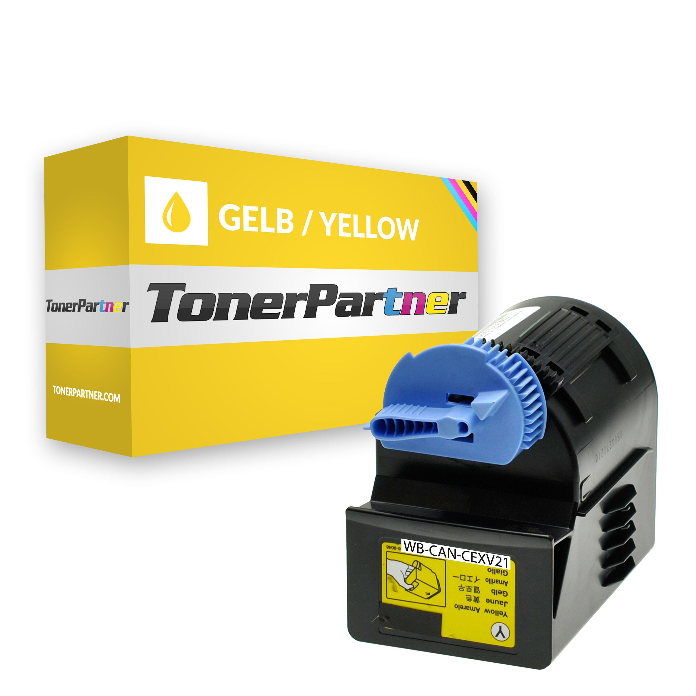 Kompatibel zu Canon 0455B002 / CEXV21 Toner gelb