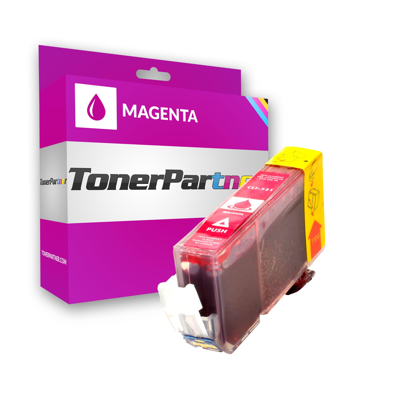 TonerPartenaire Canon 2935 B 001 / CLI-521 M Cartouche d'encre magenta