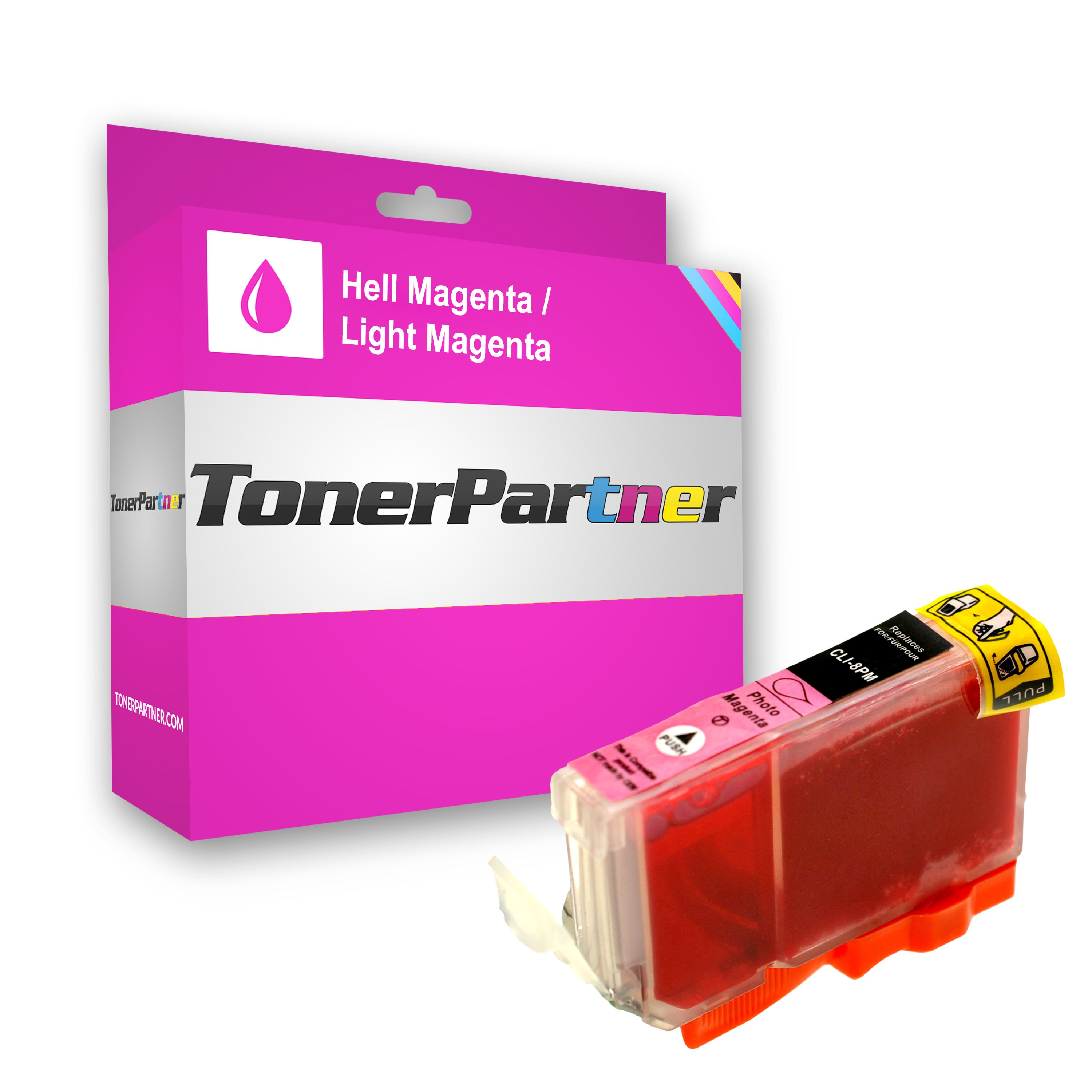 Compatible to Canon 0625B001 / CLI8PM Ink cartridge bright magenta