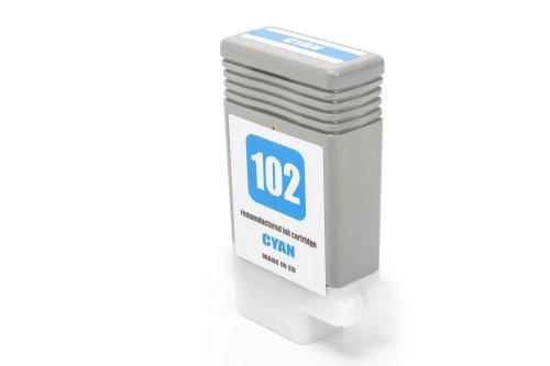 Compatibile con Canon 0896 B 001 / PFI-102 C Cartuccia di inchiostro ciano