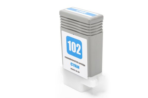 Kompatibel zu Canon 0896B001 / PFI-102C Tintenpatrone Cyan