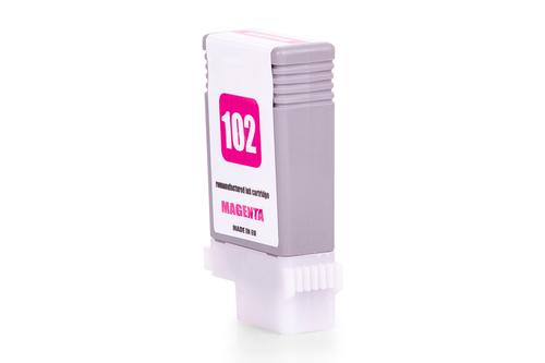 Kompatibel zu Canon 0897B001 / PFI-102M Tintenpatrone Magenta