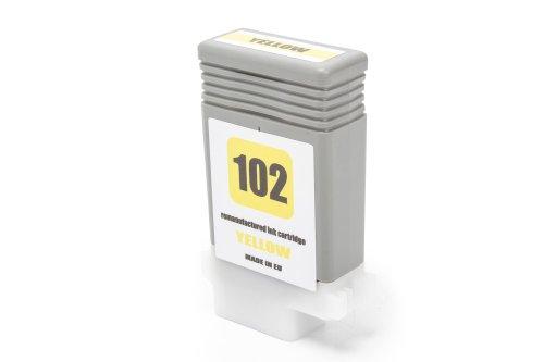 Compatibile con Canon 0898 B 001 / PFI-102 Y Cartuccia di inchiostro giallo