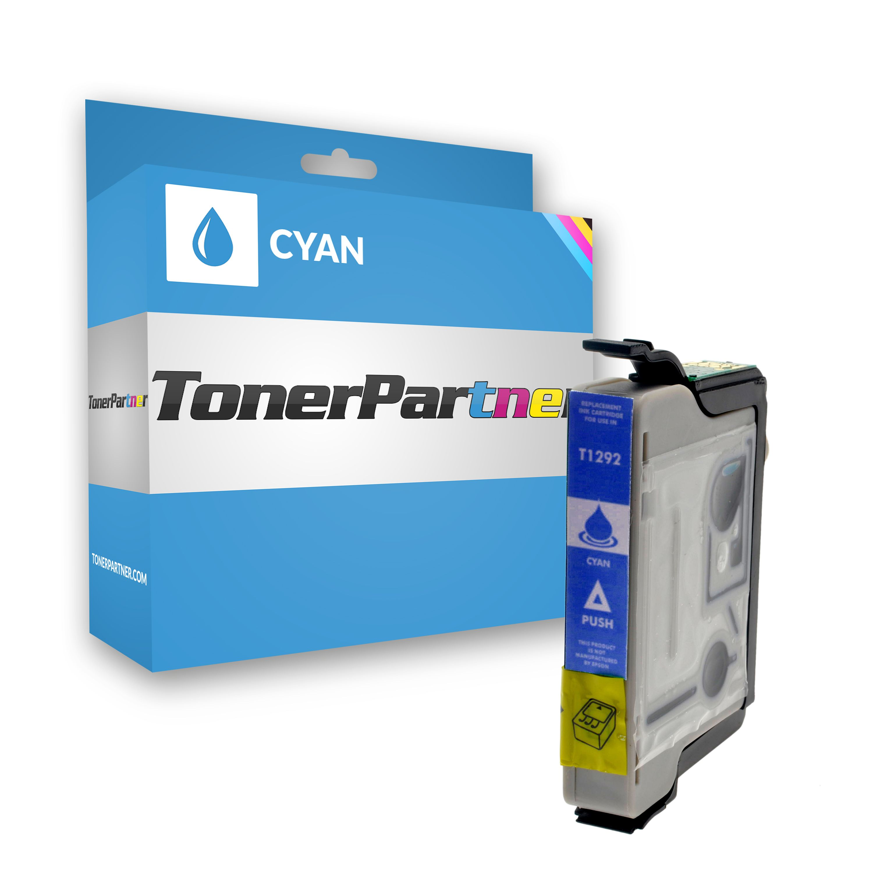 Compatible to Epson C13T12924010 / T1292 Ink cartridge cyan