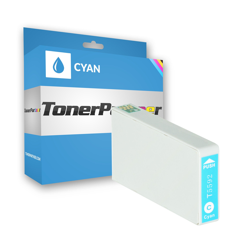 Kompatibel zu Epson C13T55924010 / T5592 Tintenpatrone cyan XXL