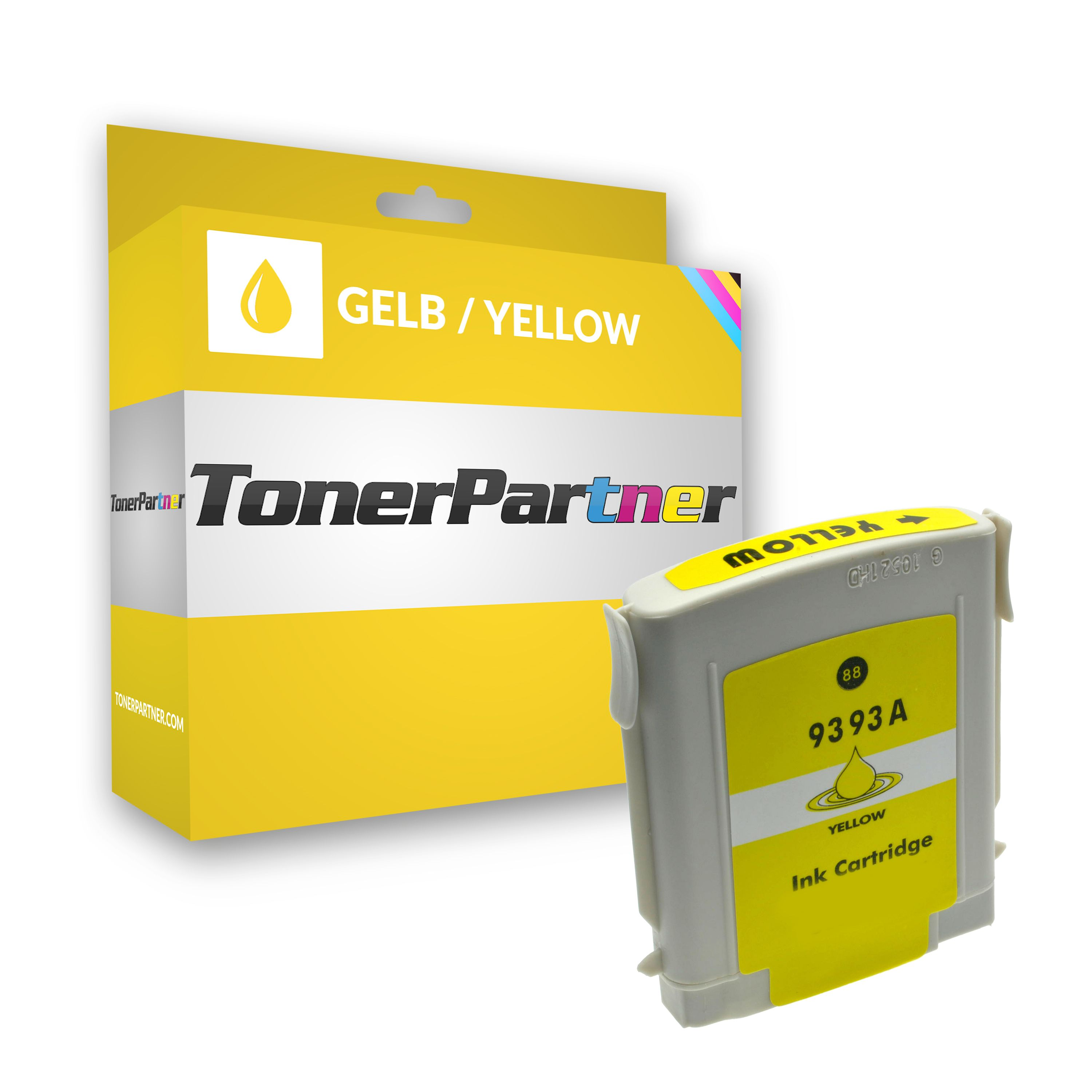 Compatible to HP C9393AE / 88XL Ink cartridge yellow