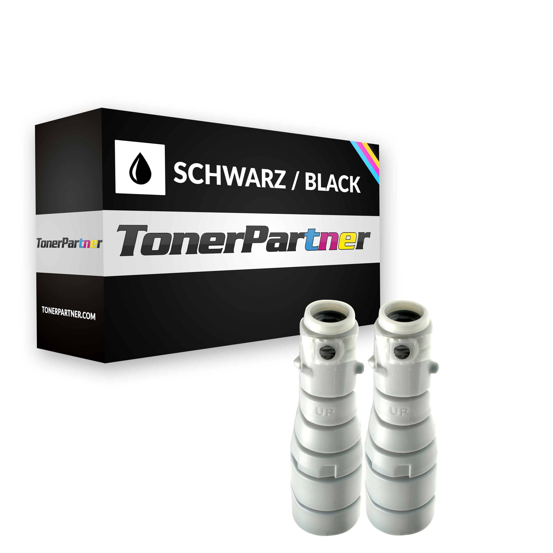 Kompatibel zu Konica Minolta 8936-404 / EP302B Toner schwarz (2 Stück)
