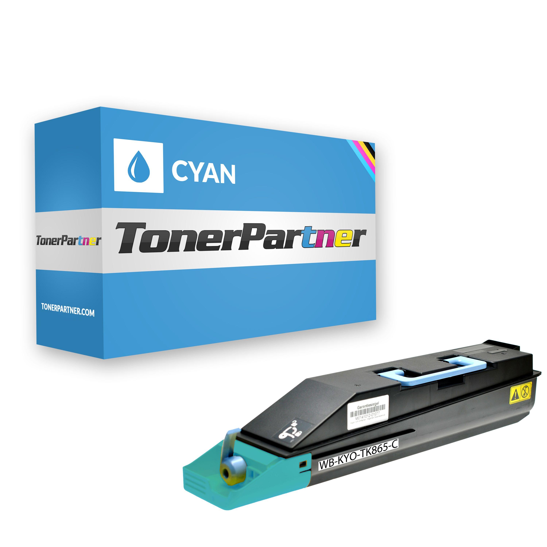Kompatibel zu Kyocera/Mita 1T02JZCEU0 / TK865C Toner cyan