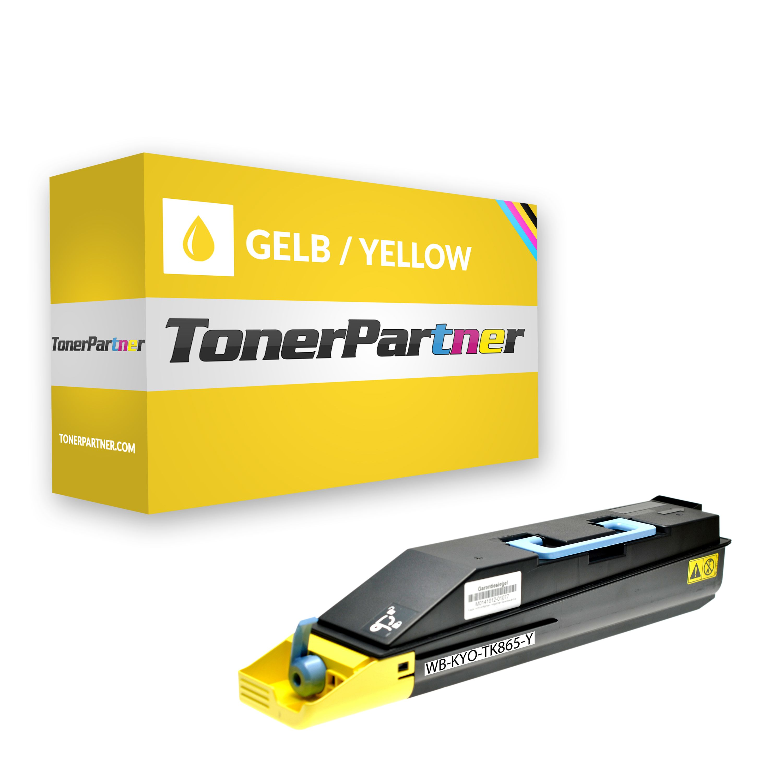 Kompatibel zu Kyocera/Mita 1T02JZAEU0 / TK865Y Toner gelb