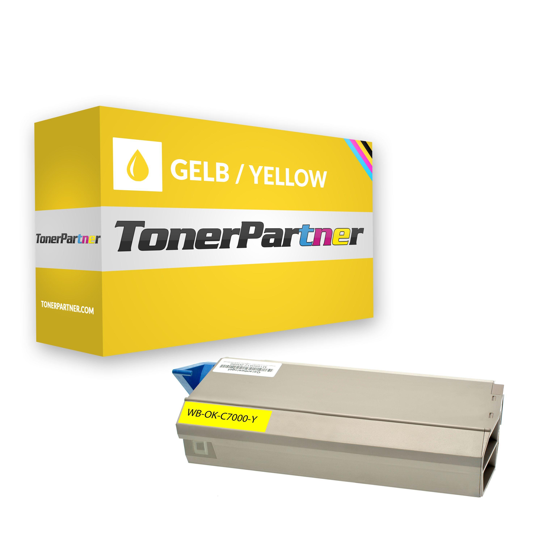 Kompatibel zu OKI 41963005 Toner gelb