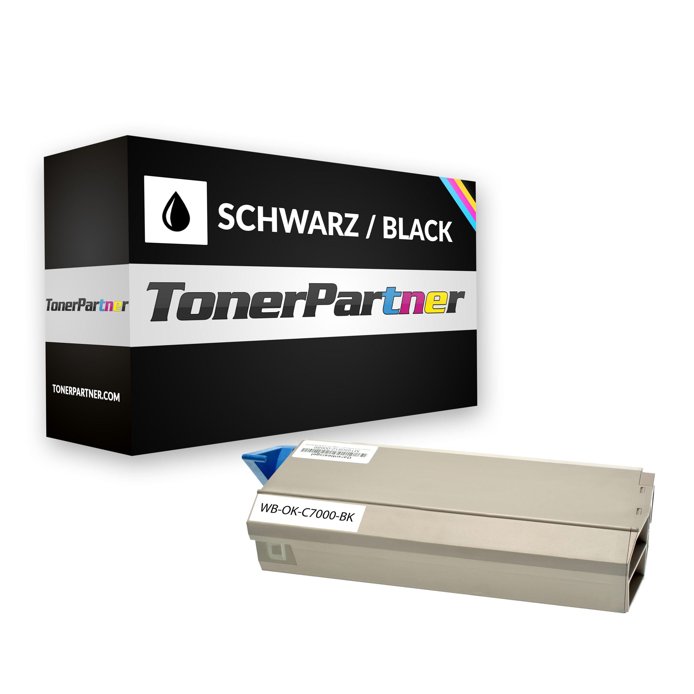 Kompatibel zu OKI 41963008 Toner schwarz