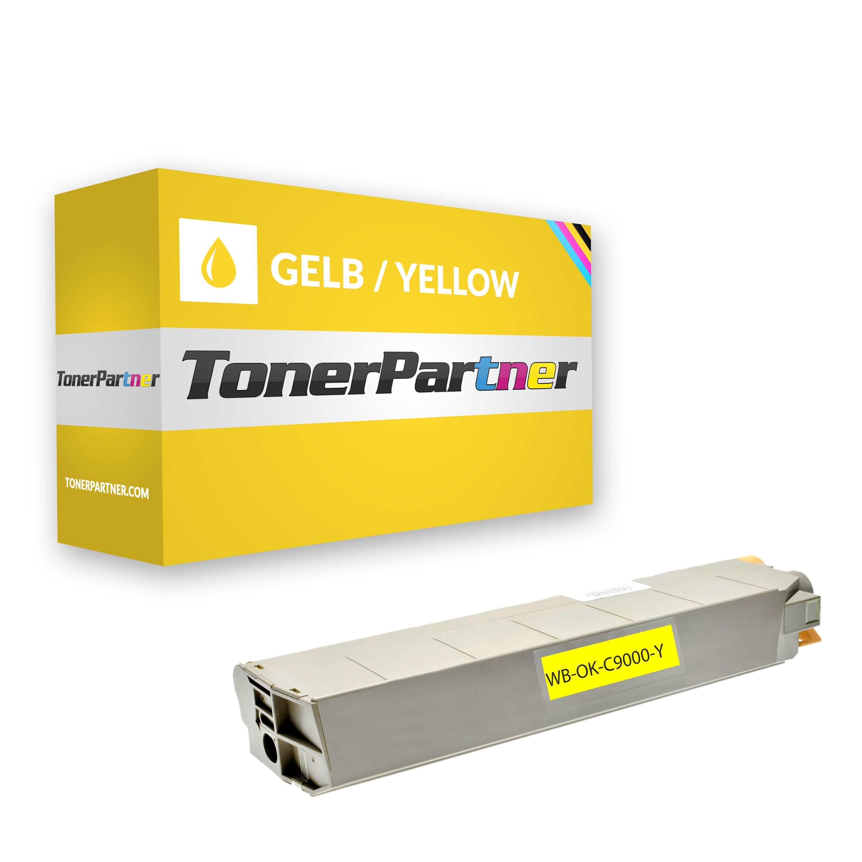 Huismerk voor OKI 41963605 Toner geel