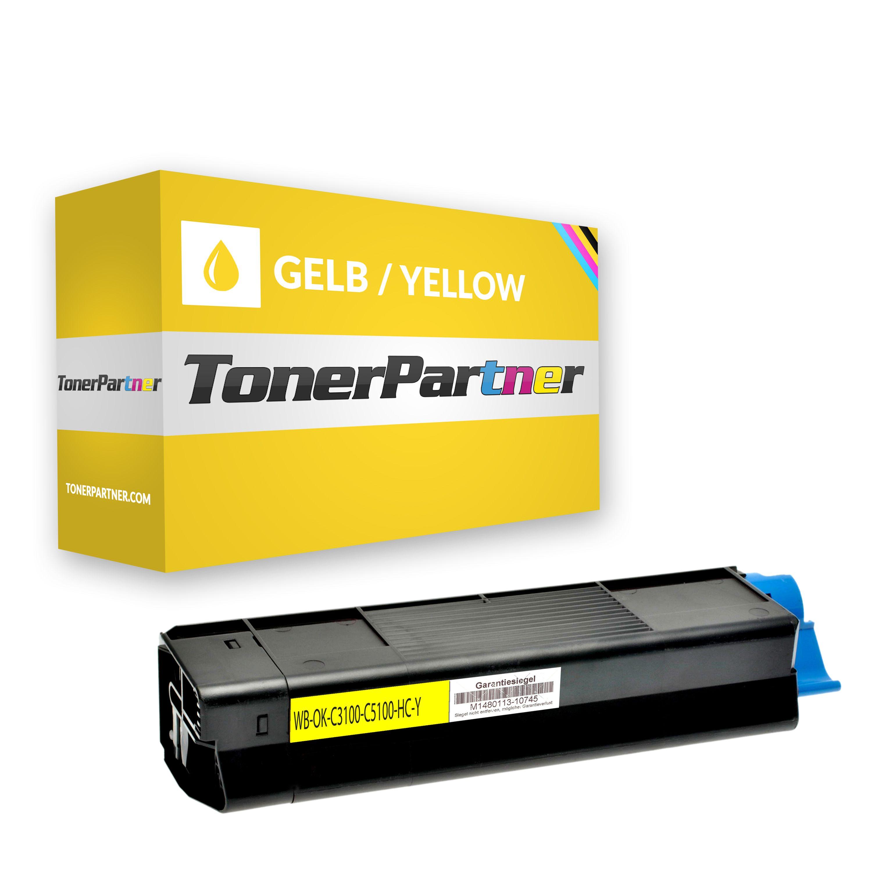 Kompatibel zu OKI 42127454 / 42804545 Toner gelb