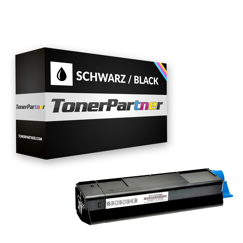 Kompatibel zu OKI 42127457 / 42804548 Toner schwarz
