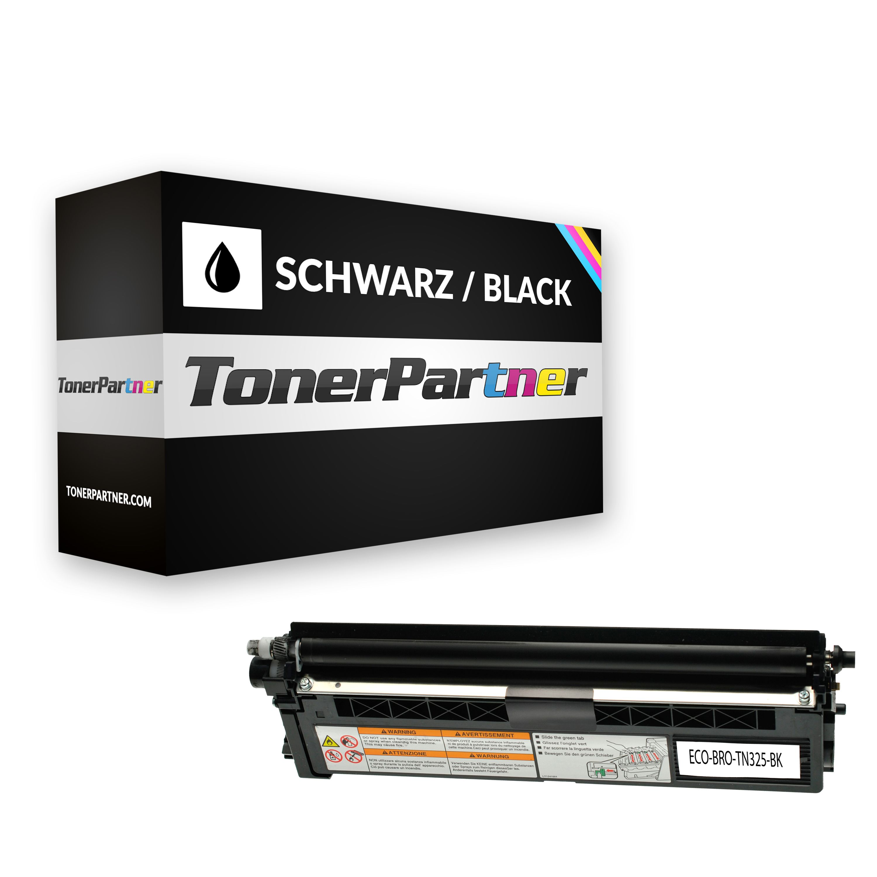 Kompatibel zu Brother TN-325BK Toner schwarz