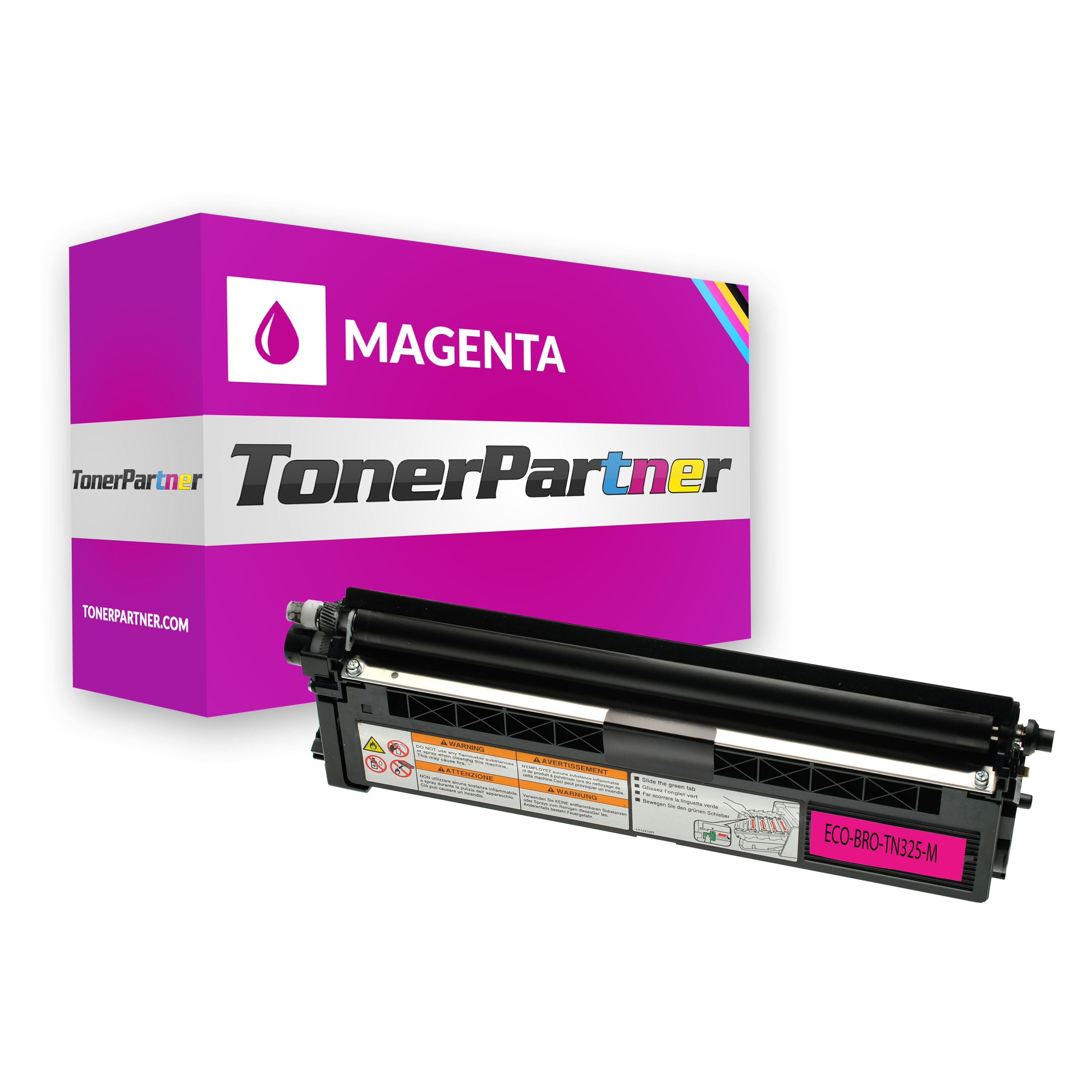 Kompatibel zu Brother TN-325M Toner magenta