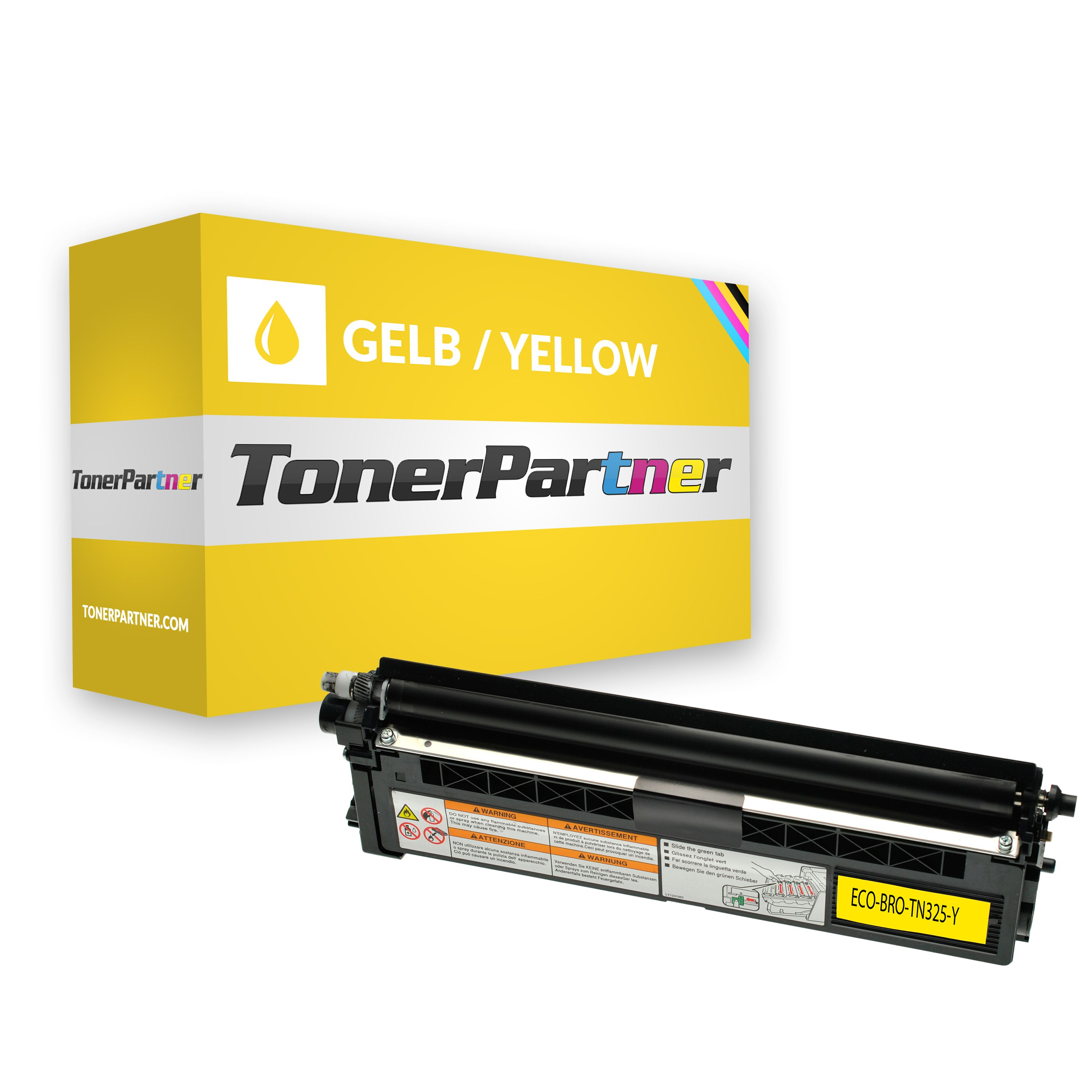 Kompatibel zu Brother TN-325Y Toner gelb