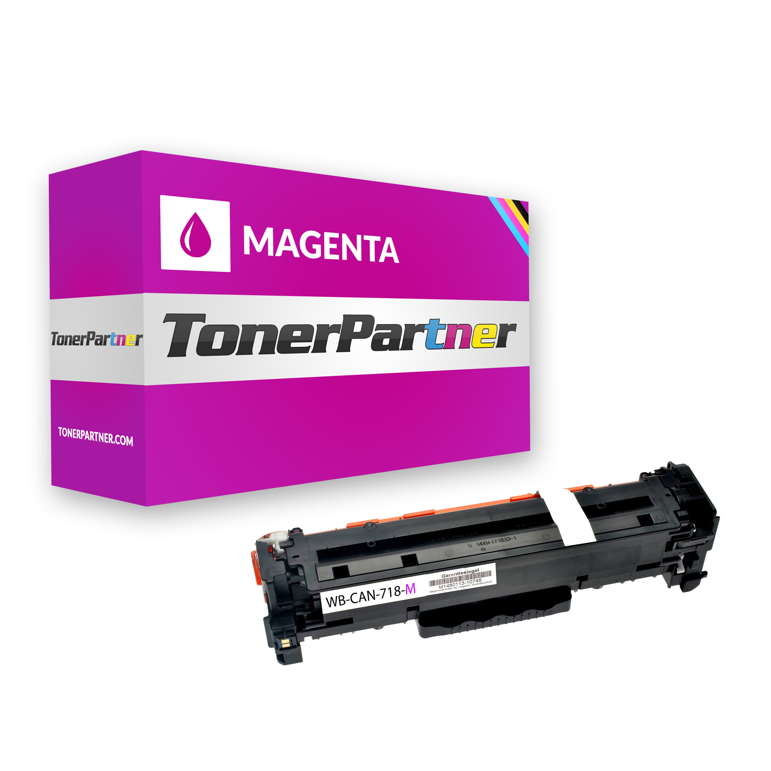 Compatible to Canon 2660B002 / 718M Toner magenta