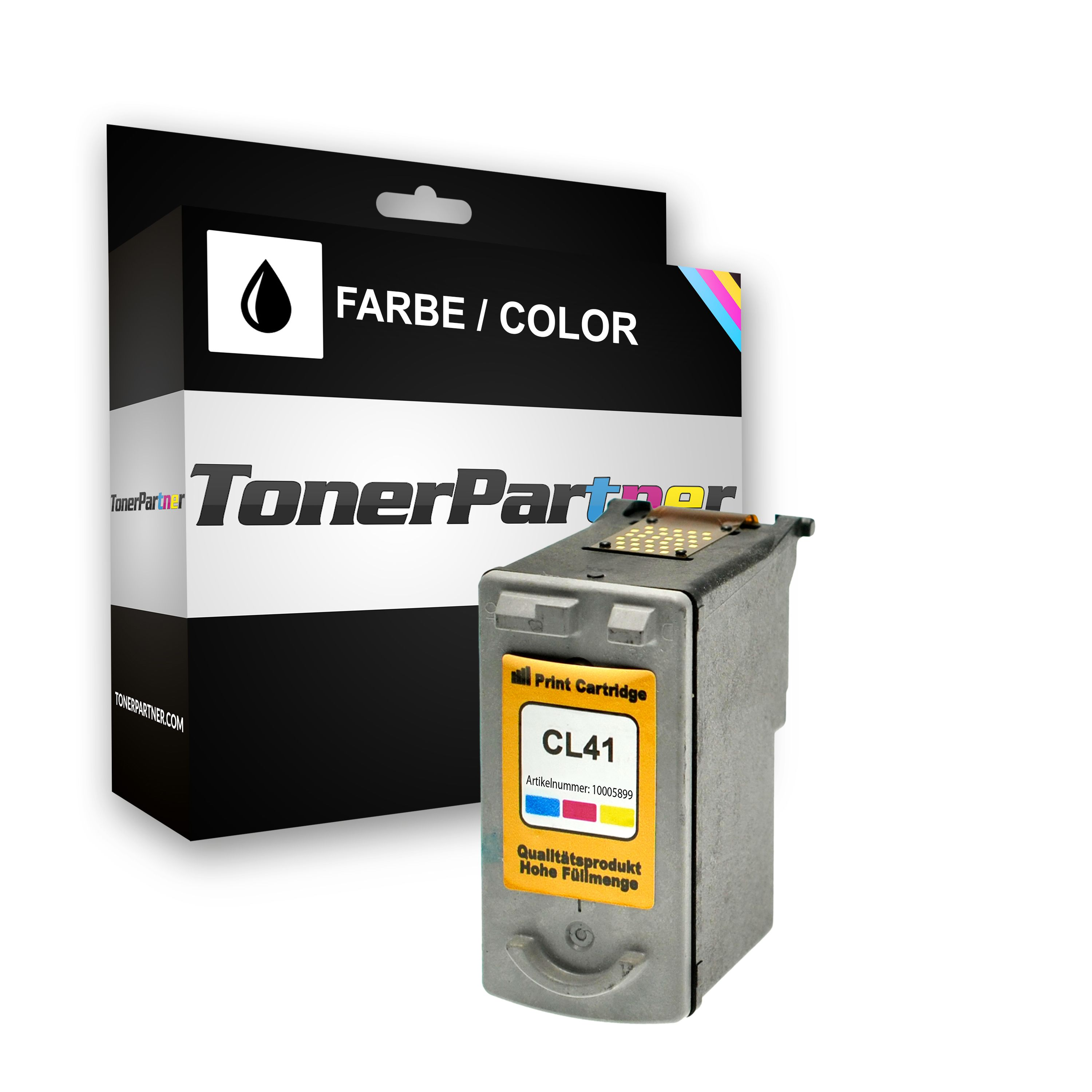 Compatible to Canon 0617B001 / CL41 Printhead color XXL