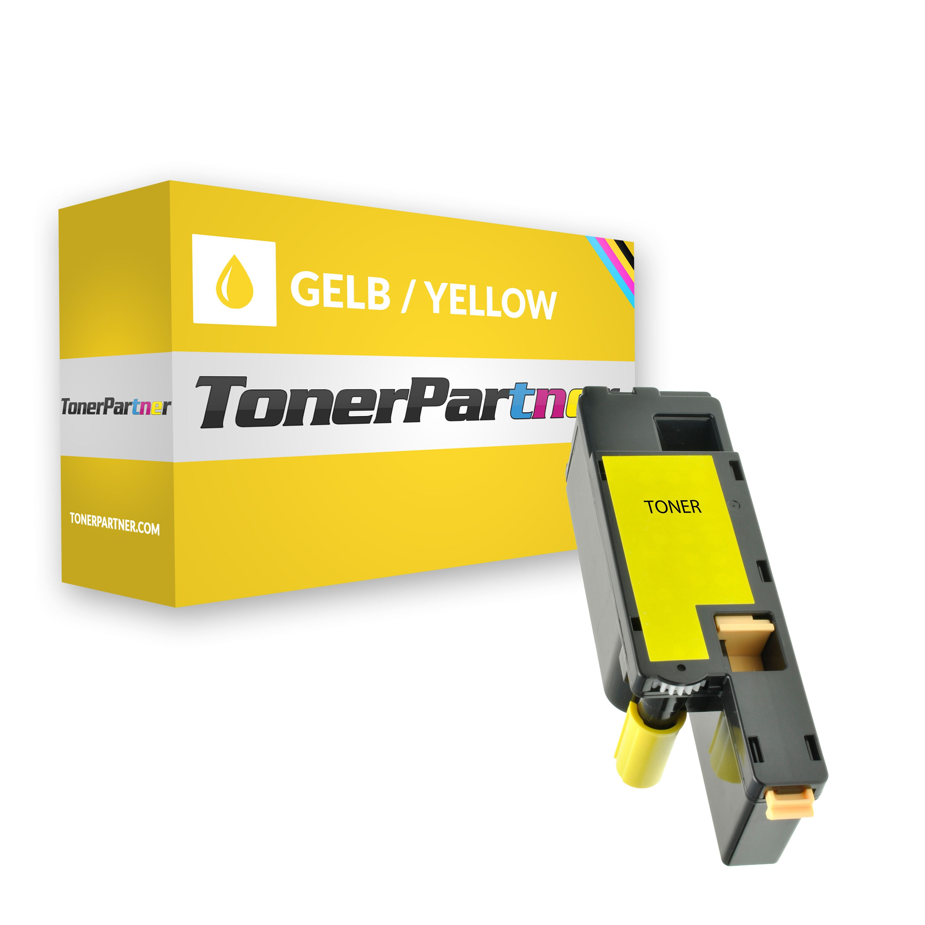 Alternative à Dell 593-11019 / 25MRX Toner jaune