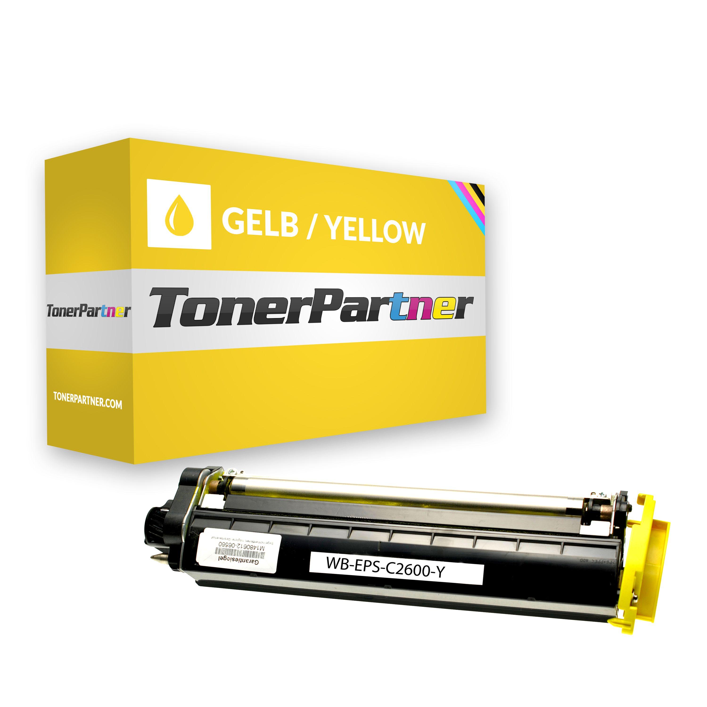Kompatibel zu Epson C13S050226 / C2600 Toner Gelb