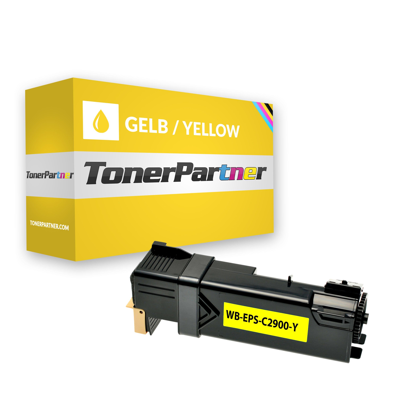 Kompatibel zu Epson C13S050627 Toner gelb