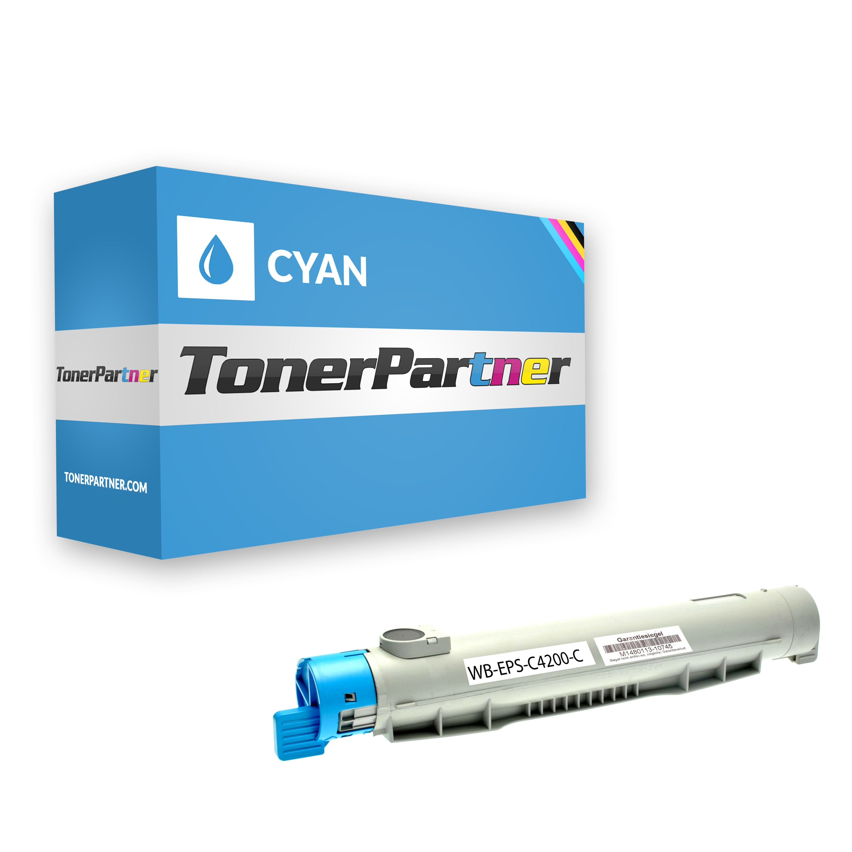 Kompatibel zu Epson C13S050244 / 0244 / C4200 Toner cyan