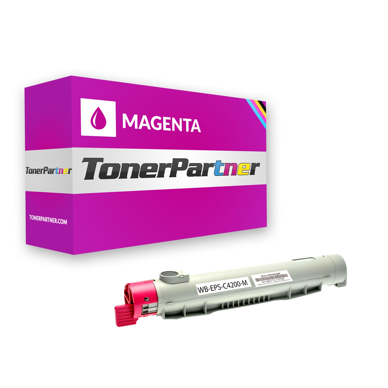 Kompatibel zu Epson C13S050243 / 0243 / C4200 Toner magenta