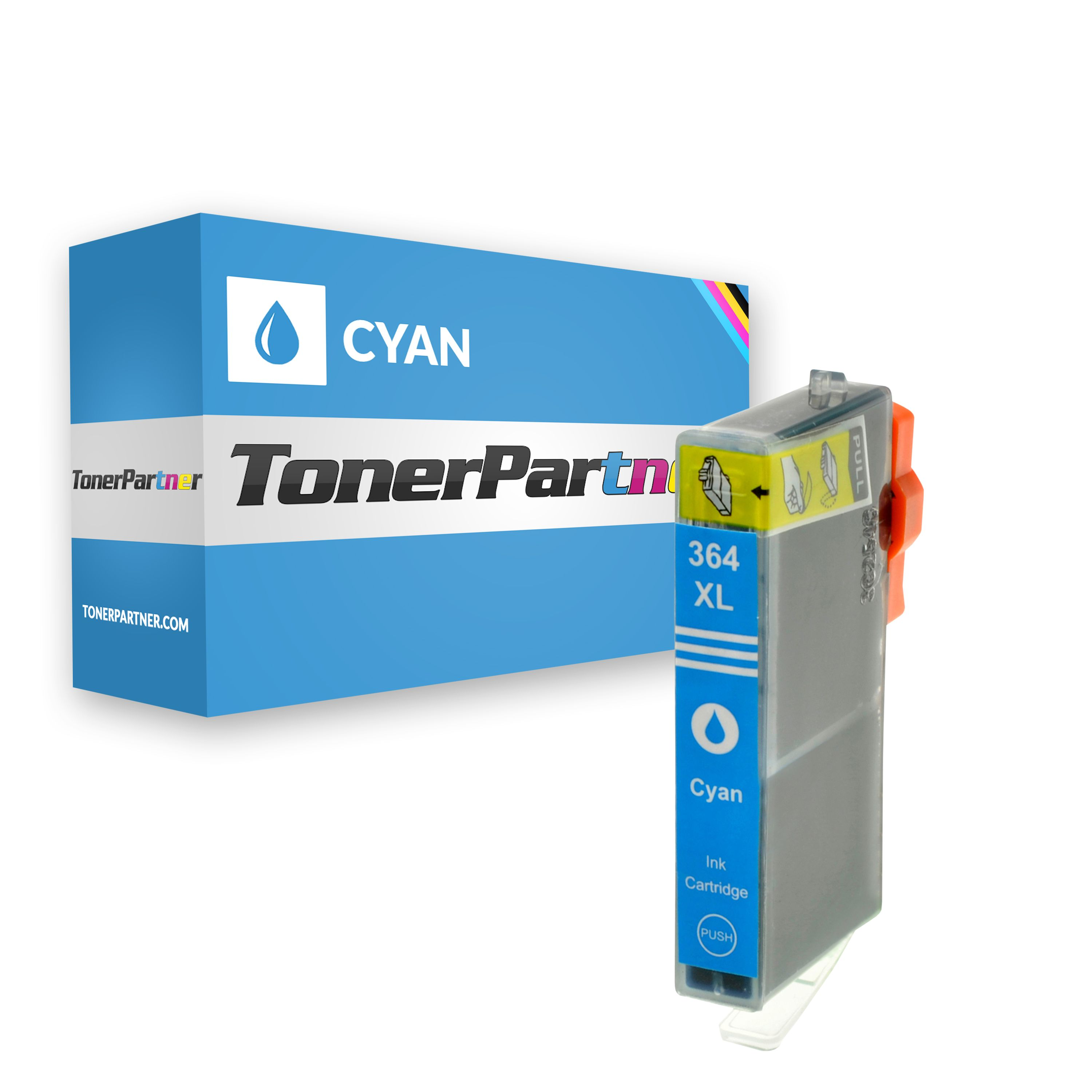 Compatible to HP CB323EE / 364XL Ink cartridge cyan