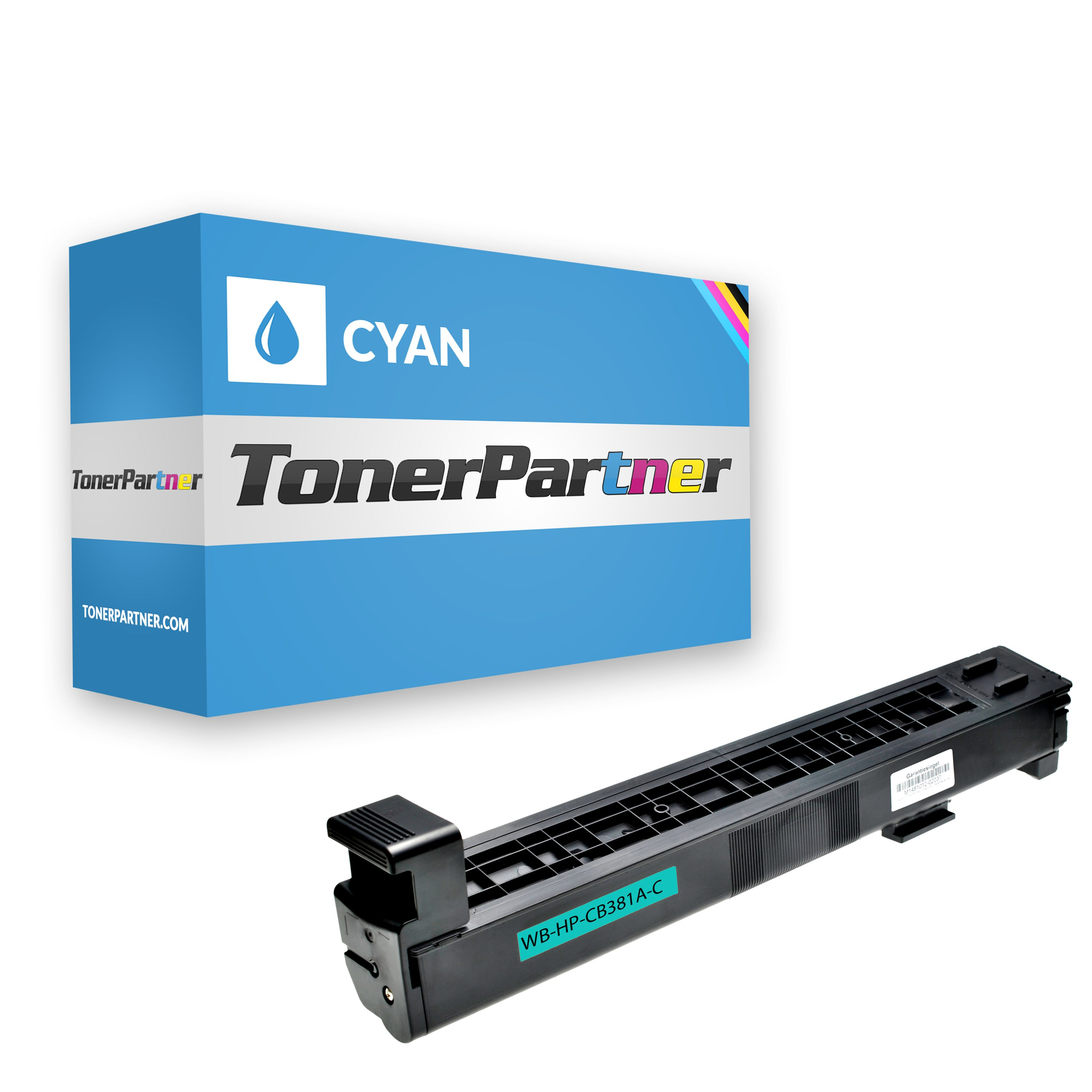 Compatible to HP CB381A / 824A Toner cyan