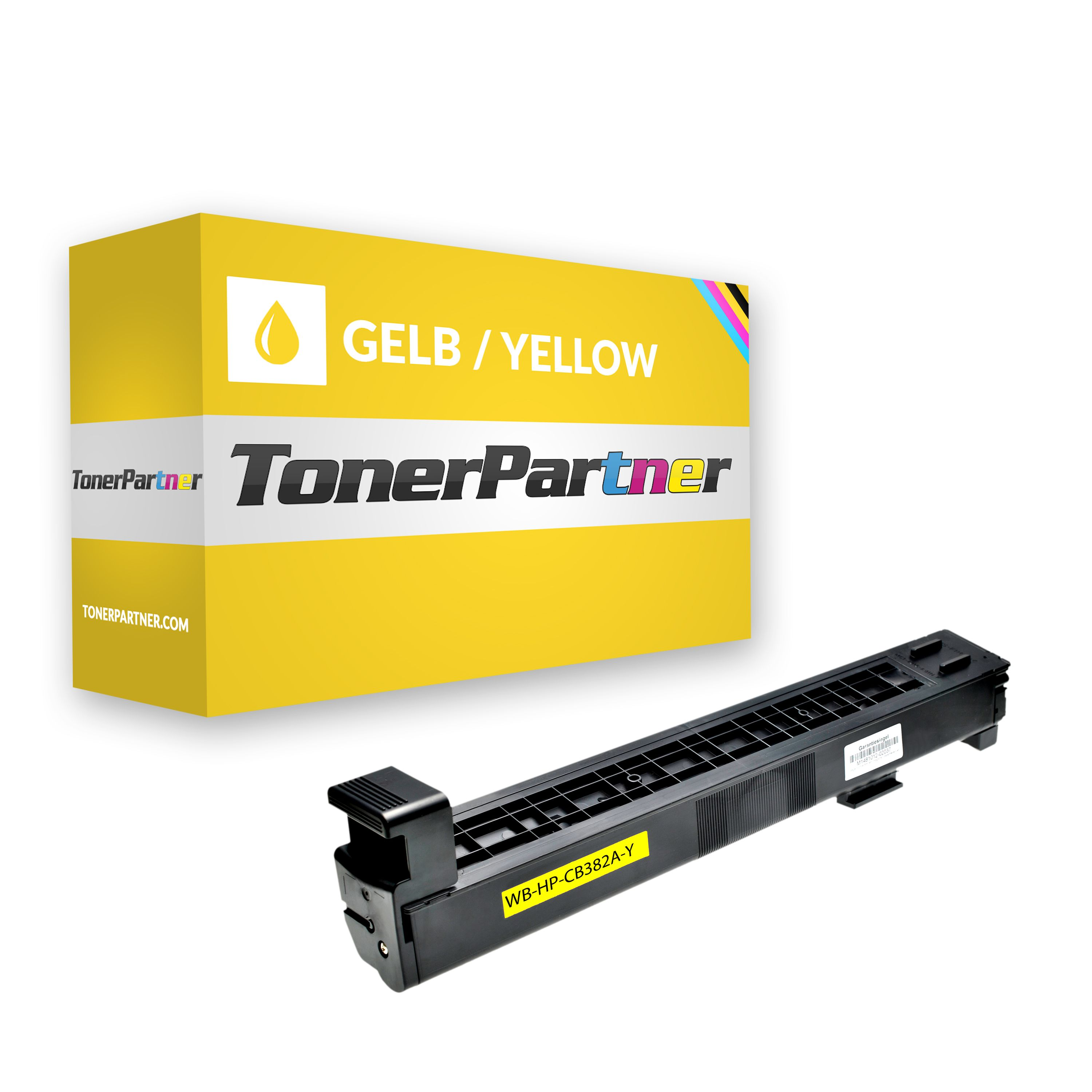 Compatible to HP CB382A / 824A Toner yellow