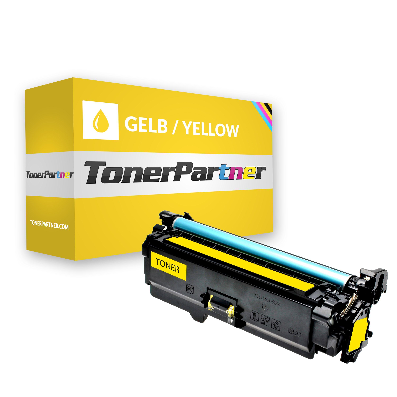 Kompatibel zu HP CE252A Toner gelb