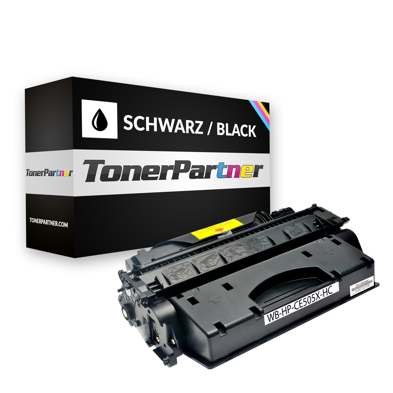 Kompatibel zu HP CE505A Toner schwarz XXL